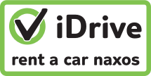 iDrive rent a car Naxos, car hire on Naxos the easy way